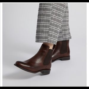 Shoes - Little Burgundy Clara Ankle Boots Dark Brown
